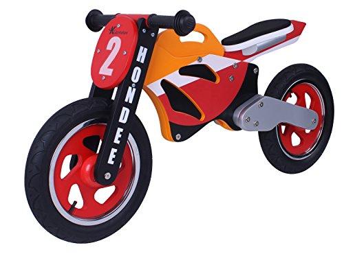 🥇 Hondee madera bicicleta de equilibrio de la moto