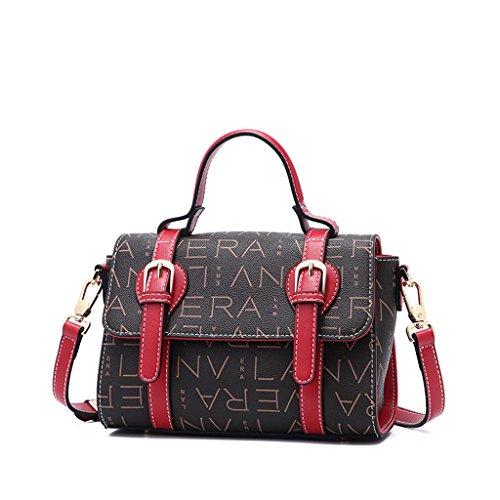 à femme bandoulière bandoulière Lxf20 tendance bandoulière main tendance sac à à PVC sac Sac Brown sac à wII7n6q1
