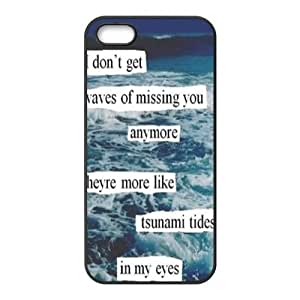Ed Sherran Quotes iPhone Case for iphone 5/5s, Well-designed TPU iphone 5s Case, iphone accessories Kimberly Kurzendoerfer