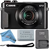 Canon PowerShot G7 X Mark II 20.1MP 4.2x Optical Zoom Digital Camera and Built-in WiFi/ NFC (Cloth Only)