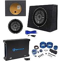 Rockford Fosgate P3SD4-12 12 Subwoofer+Shallow Enclosure+500W Amplifier+Amp Kit