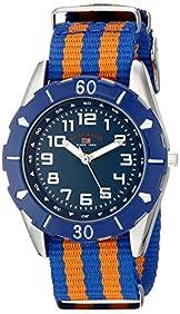 U.S. Polo Assn. Kids' USB75025 Analog Display Analog Quartz Two Tone Watch