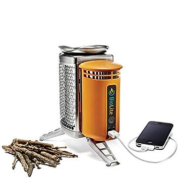 BioLite & USB- el uno y sólo Estufa Que Necesita para excursiones al Aire Libre