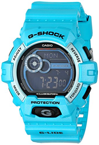 Casio G Shock G-LIDE Series Blue Resin Mens Watch GLS8900-2