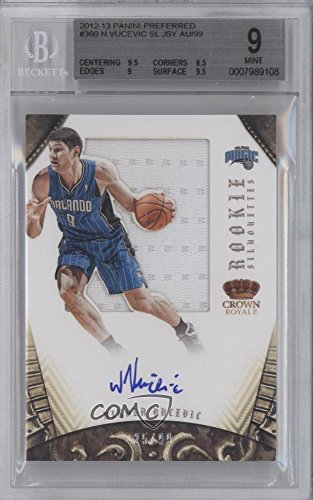 Nikola Vucevic BGS GRADED 9 #25/99 (Basketball Card) 2012...