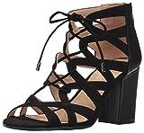 Franco Sarto Women's MEENA Fashion Sandals, Black, 8 M US