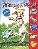 Marley's World Reusable Sticker Book, John Grogan, 0061853976