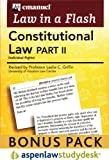 Liaf : Constitutional Law Ii Studydesk Bonus Pack, Emanuel, Steven and Griffin, Leslie C., 0735587914
