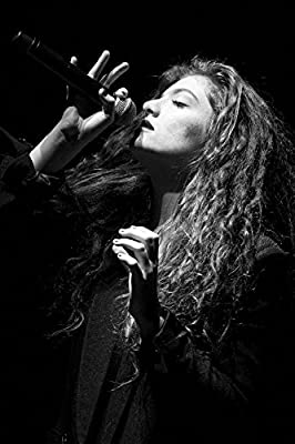 MOTIVATION4U Lorde New Zealand singer, songwriter, and record producer 12 x 18 inch poster