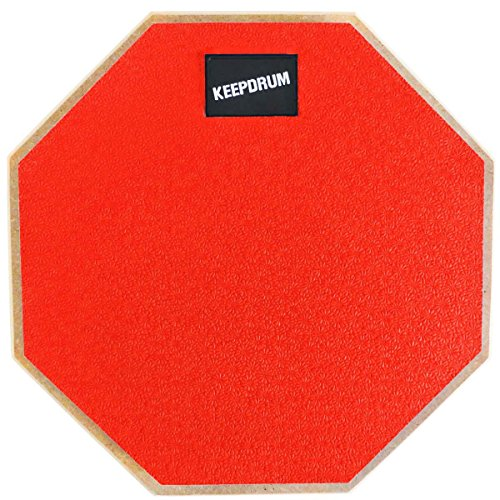 KEEPDRUM DP-RD Übungspad Drum Practice Pad mit 8mm Gewinde