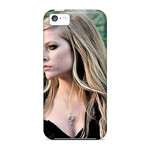 Saraumes Iphone 5c Hybrid Tpu Case Cover Silicon Bumper Avril Lavigne by icecream design