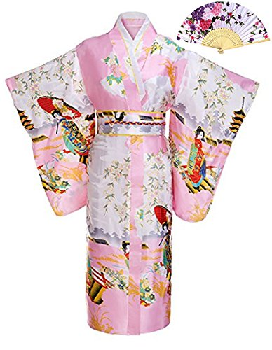 oriental kimono dress - 3