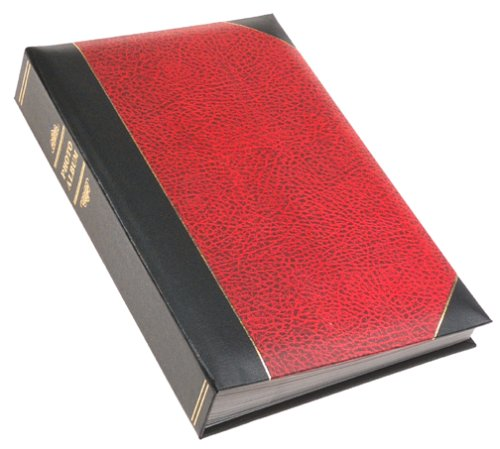 4 Ply Gold Paper (Pioneer Ledger Bi-Directional Le Memo Album, Red)