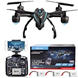 BLACK FRIDAY DEAL! Contixo F5 WiFi FPV Quadcopter Drone w/ HD Camera, Live Video For Aerial Photography, Altitude Hold, Auto Return, Easy to Fly for Expert Pilots & Beginners Great Gift Idea