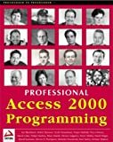 Professional Access 2000 Programming (Programmer to programmer)