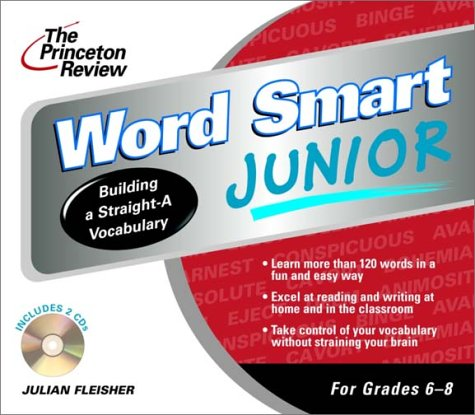 The Princeton Review Word Smart Junior CD (LL(R) Prnctn Review on Audio) by Living Language
