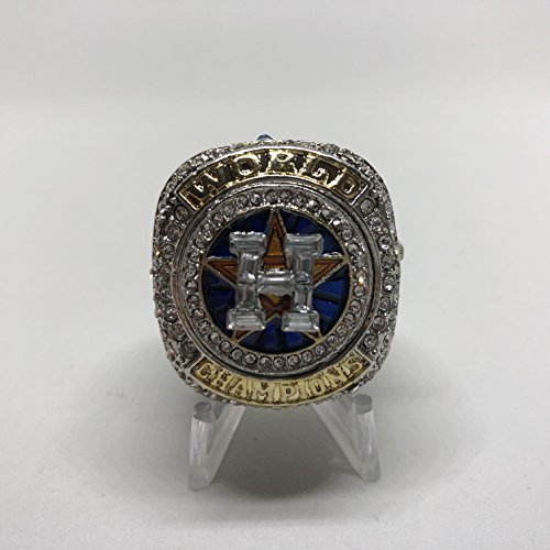 2017 George Springer Houston Astros HIGH QUALITY PREMIUM Replica 2017 World Series Championship Ring Size 12-Silver Color US SHIPPING