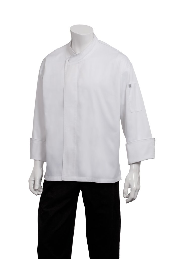 Chef Works Men's Tours Cool Vent Executive Chef Coat, White, X-Large by Chef Works