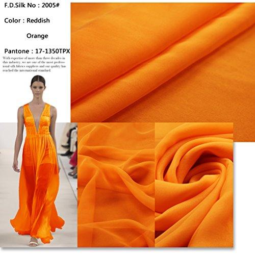 orange sewing fabric - 9
