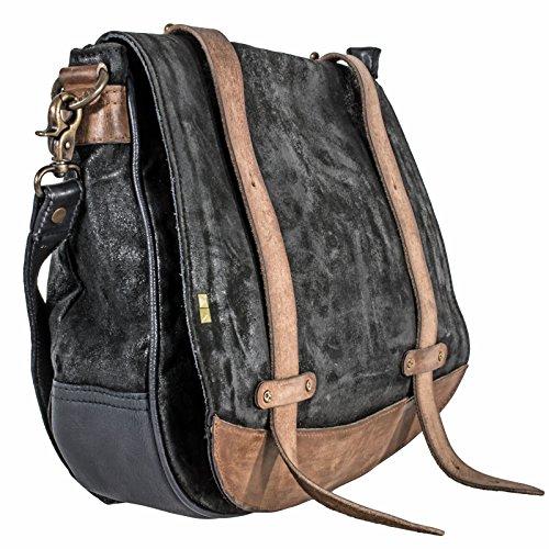 Desiderius Herren Weekender Tasche Kajetan black DESS170423