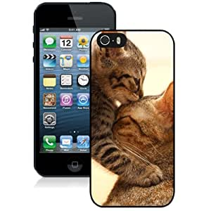 New Personalized Custom Designed For iPhone 5s Phone Case For Baby Kitten Kisses Cat Mom Phone Case Cover