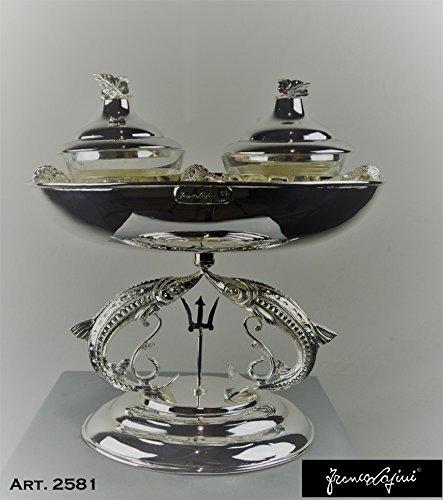 Caviar Set Oval Bowl with double caviar taste #2581 ()