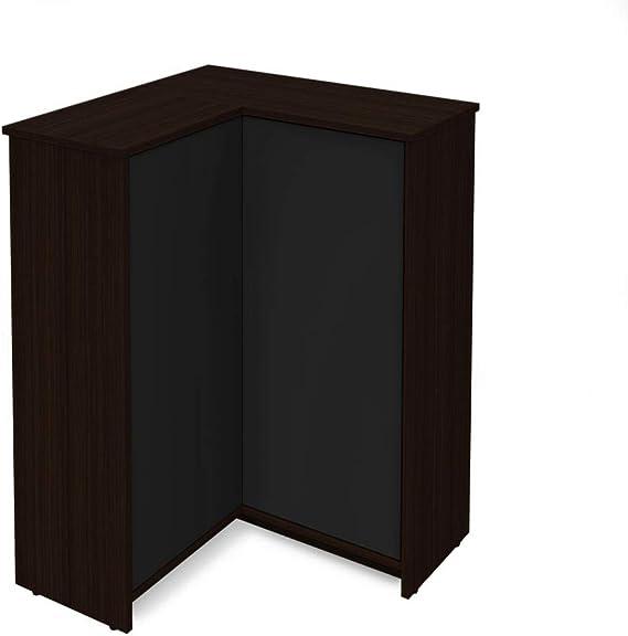 Bestar Corner Storage Cabinet - Small Space