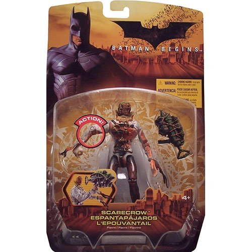 DC Comics Batman Begins Scarecrow Action Figure (Bloody Version) 5 Inches
