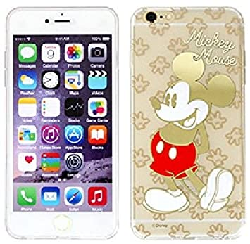 f08c2a3edf 【Disney / ディズニー】iPhone6 / iPhone6s 対応 Disney Hologram lnmold jelly Case 【アイフォン