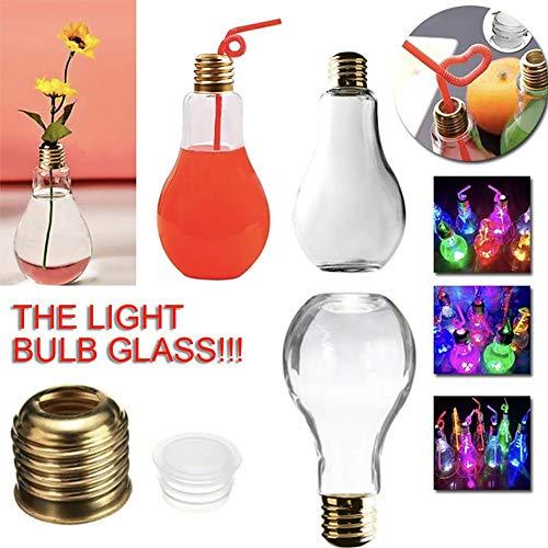 Amazon.com: 10pcs Summer Light Bulb Shaped Bottles Party ...