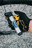 BIKETUBE Air Handler Mini Bike Pump | Two-Stage Pumping | Bicycle Accessories | Aluminum Barrel | Fits Presta and Schrader Valves | High Volume and High Pressure