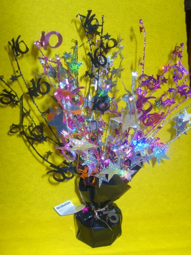 Fabulous Sweet 16 Centrepiece / Balloon Weights - Great Matching Sweet 16 (Halloween Sweets Table)
