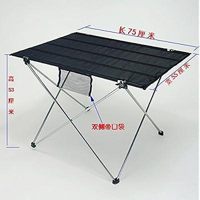 Xing Lin Table D'Extérieur La Nouvelle Lumière Ultra-Portable Table Pliante Table De Pique-Nique Barbecue Table Table Table Table D'Extérieur D'Oeufs De Table Table, Décrochage Camp Rouge Vin Un Gr