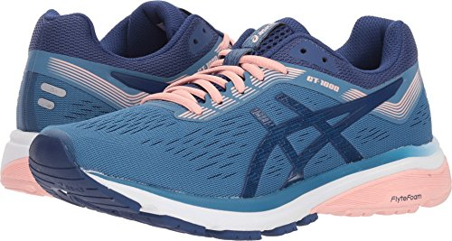 ASICS New Women's GT-1000 7 Running Shoe Azure/Blue Print 9.5