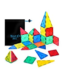 NextX Building blocks Toys 32 Pieces Clear 3D Magnetic Tile Set ,Early educational STEM Toys for boys and girls - Kid's Birthday Gift Idea BOBEBE Online Baby Store From New York to Miami and Los Angeles