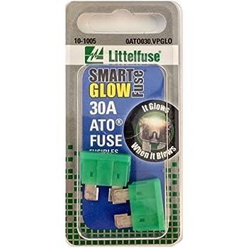 Pack of 5 Littelfuse 0MIN030.VP MINI 32 Volt 30 Amp Carded Blade Fuse,