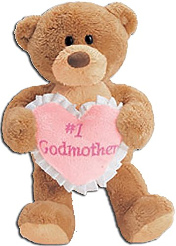 Gund Plush Teddy Bear Thinking of You #1 Godmother