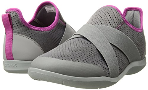 Crocs Mules Light 07z Grey Gris X Femme strap smoke Swiftwater A0qrwtA