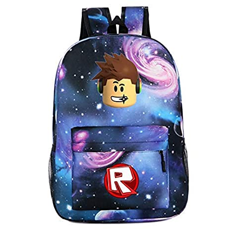 Roblox Backpack Kids School Bag Students Bookbag Handbags Travelbag Shoulder Boy