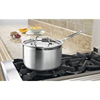 CONAIR MULTICLAD PRO TRIPLE PLY 4QT SAUCEPAN W COVER STAINLSS / MCP194-20N /