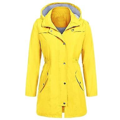 Hanomes Damen pullover, Frauen Solide Regenjacke Outdoor