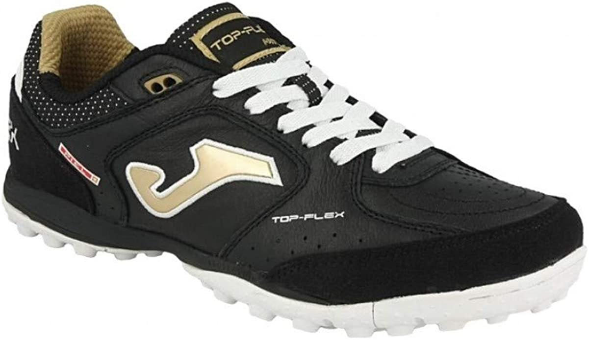 Joma Top Flex 2001 Negro-Fluor Turf Scarpe da Corsa Unisex Adulto