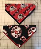 New England Patriots or Boston Red Sox Dog Bandanas