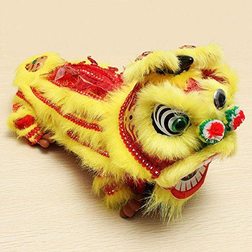 Dancing Lion Tissue Box Chinese Folk Arts and Craft ()