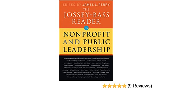 Amazon the jossey bass reader on nonprofit and public amazon the jossey bass reader on nonprofit and public leadership ebook jossey bass publishers james l perry james m kouzes kindle store fandeluxe Images