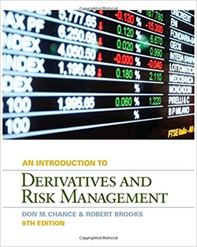 Introduction to derivatives and risk management with stock trak introduction to derivatives and risk management with stock trak coupon 9th edition fandeluxe