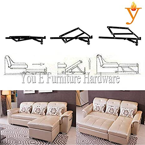 Amazon.com: Kasuki Extensible Sofa Bed Mechanism Hinge D13 ...