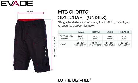 bda729ac6a6 Evade Cycling MTB Void baggy Mountain Bike Shorts  Amazon.co.uk  Sports    Outdoors