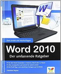 Word 2010: Der umfassende Ratgeber