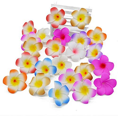 entertainment-moment-20Pcs-Plumeria-Hawaiian-Foam-Frangipani-Flower-Artificial-Silk-Fake-Egg-Flower-for-Wedding-Party-DecorationH058Cm